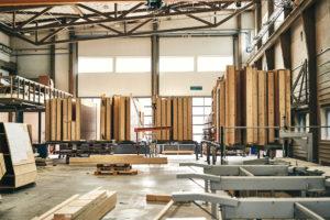 Préfabrication éléments bois